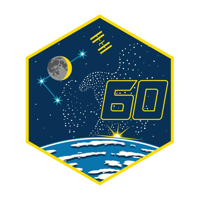Honored that our #Apollo11 mission patch could lend some inspiration to #Expedition60. Check out the meaning behind their patch's elements here: go.nasa.gov/2MKkwVn @AstroDrewMorgan @astro_luca @NASA @Space_Station