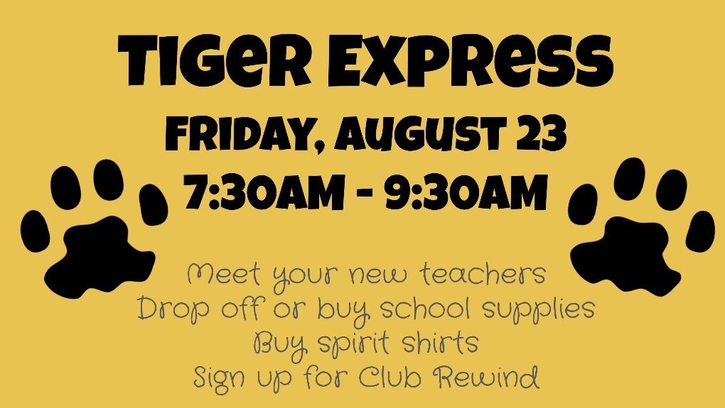 One week from today! We can't wait to meet our tigers!!