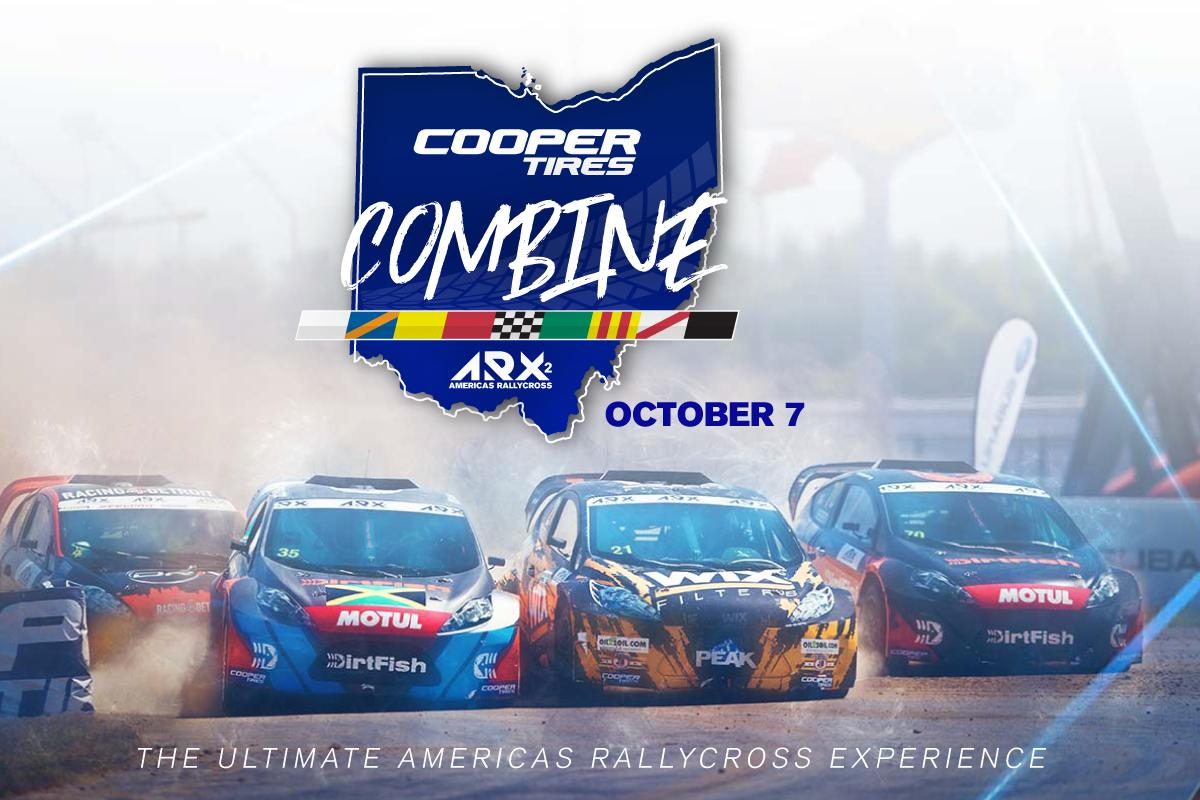 🚨BREAKING NEWS🚨 @ARXRallycross will be launching the Inaugural ARX2 @TeamCooperTire Combine at Mid-Ohio on October 7th. #ARXofMO / Read: bit.ly/2H6X0yc