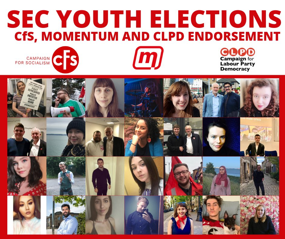 Thanks to all of the young Labour members who have endorsed Enas Magzoub and Michael Muir for the SEC so far. No other campaign can match this level of support across our movement. Make sure you vote now to elect @scottishlabour Executive Committee representatives #ForTheMany.