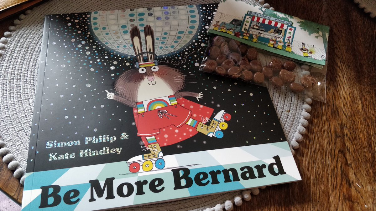 Ooh I am so thrilled to receive this today from the lovely people at @simonkids_UK #bemorebernard by Simon Philip & Kate Hindley. It publishes in September and is AMAZING! Thank you lovely @OHorrox .