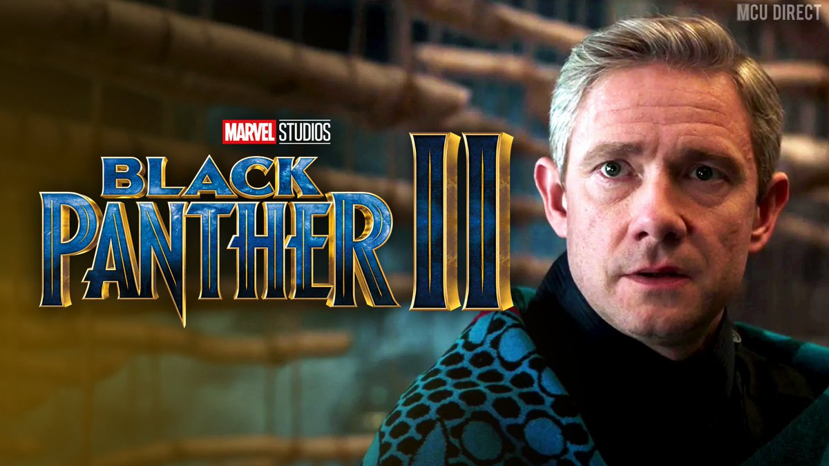 Actor Martin Freeman says that he believes he will be returning as Everett Ross in the sequel to #BlackPanther! bit.ly/2ZaEE5u