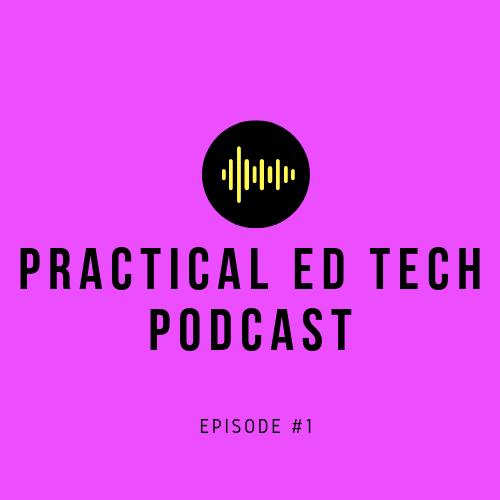 So I've started a Practical Ed Tech podcast. First episode: anchor.fm/richard-byrne8