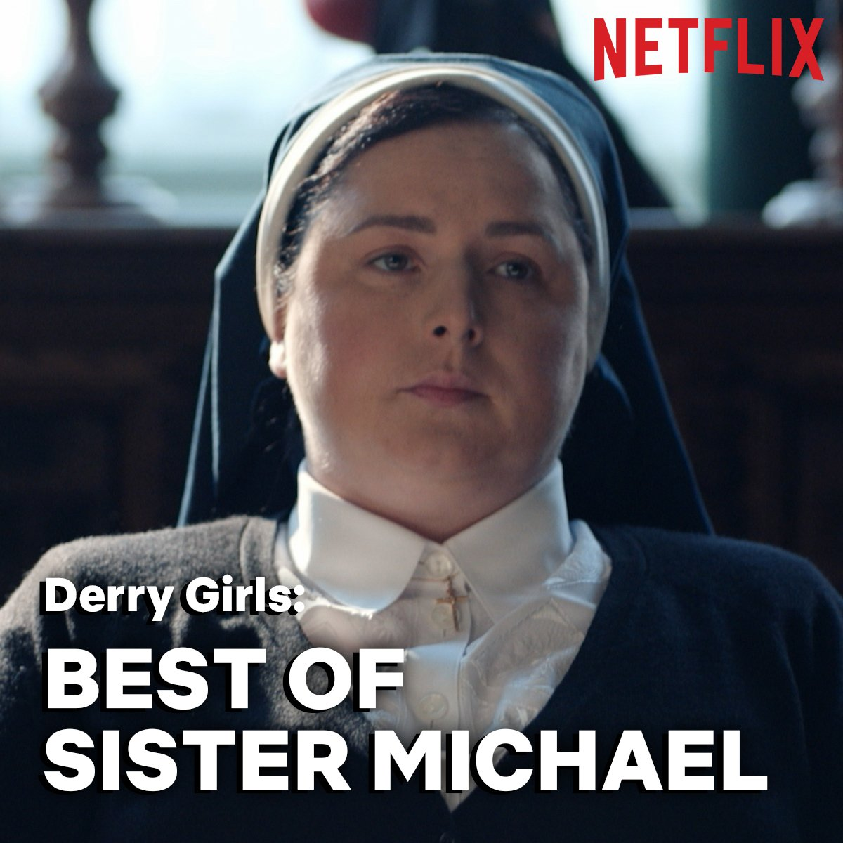 sister michael being an absolute icon for 4 minutes straight