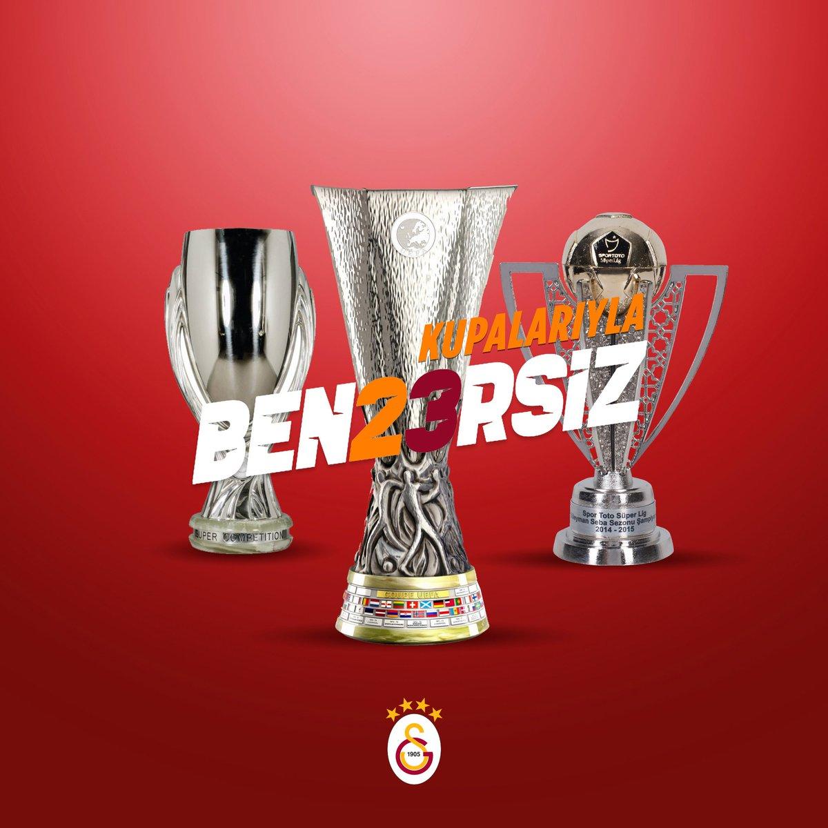 Kupalarıyla #BEN23RSİZ!