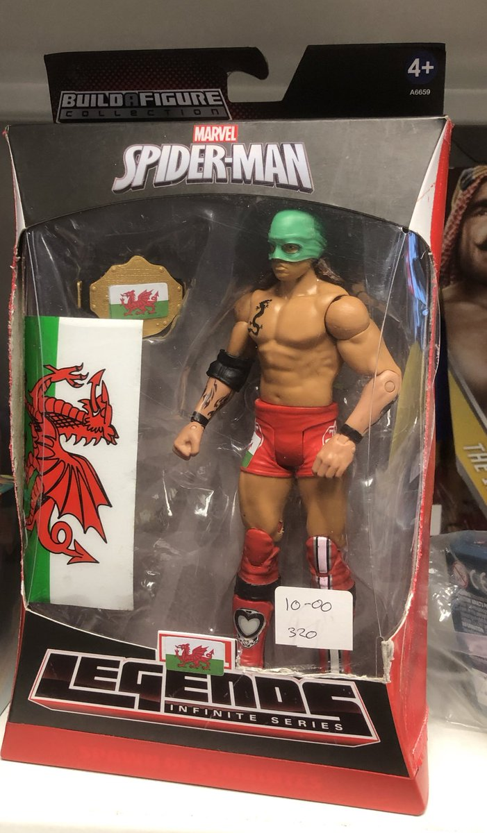 Weird charity shop find.Wonder if he'll be at Takeover Cardiff 🤔