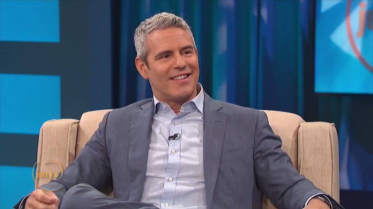 Jerry gets a surprise visit from @Andy Cohen!  Watch their hilarious interview at http://www.JerryOShow.com.