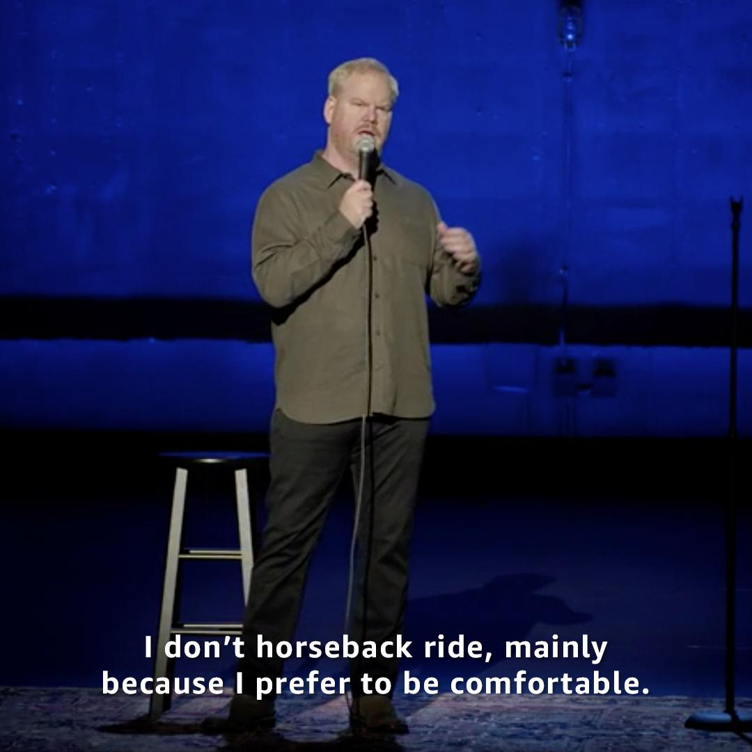 On #NationalTellAJokeDay it only makes sense to watch @JimGaffigan's new comedy special, Quality Time.