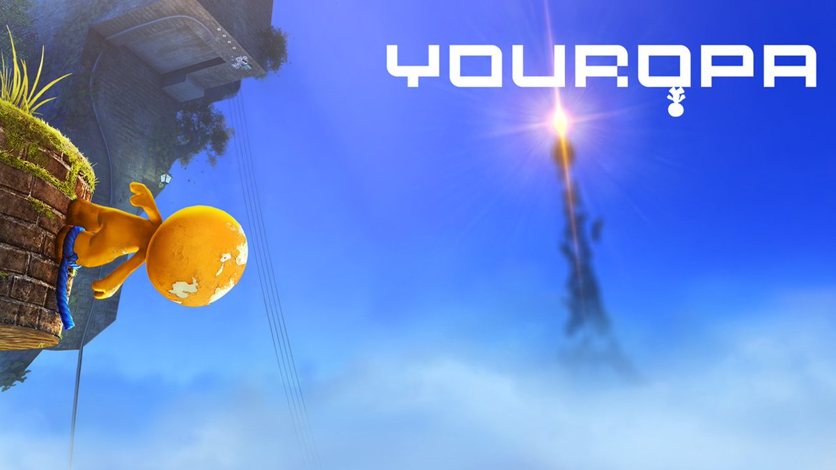 Defy gravity in #Youropa, a puzzle platform paint adventure about breaking rules, being upside down, and thinking outside the box is coming to #NintendoSwitch later this year. #IndieWorld
