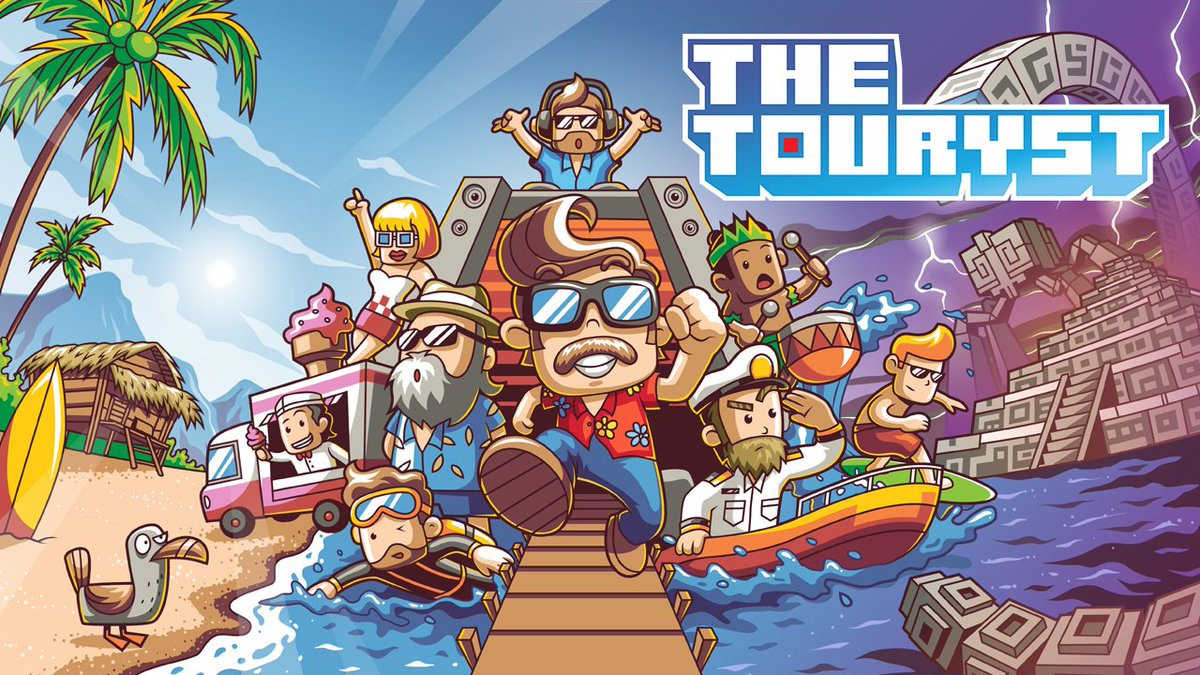 Discover exotic islands, explore ancient monuments, uncover secret passageways, and make the trip you always wanted in #TheTouryst, coming to #NintendoSwitch this November. #IndieWorld
