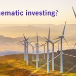 Image for the Tweet beginning: Thematic investing combines a deep