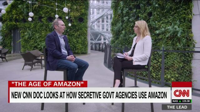 New CNN documentary examines how secretive govt agencies use Amazon @PoppyHarlowCNN reports cnn.it/307Xfkc