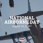 Image for the Tweet beginning: Honoring our nation's airborne forces