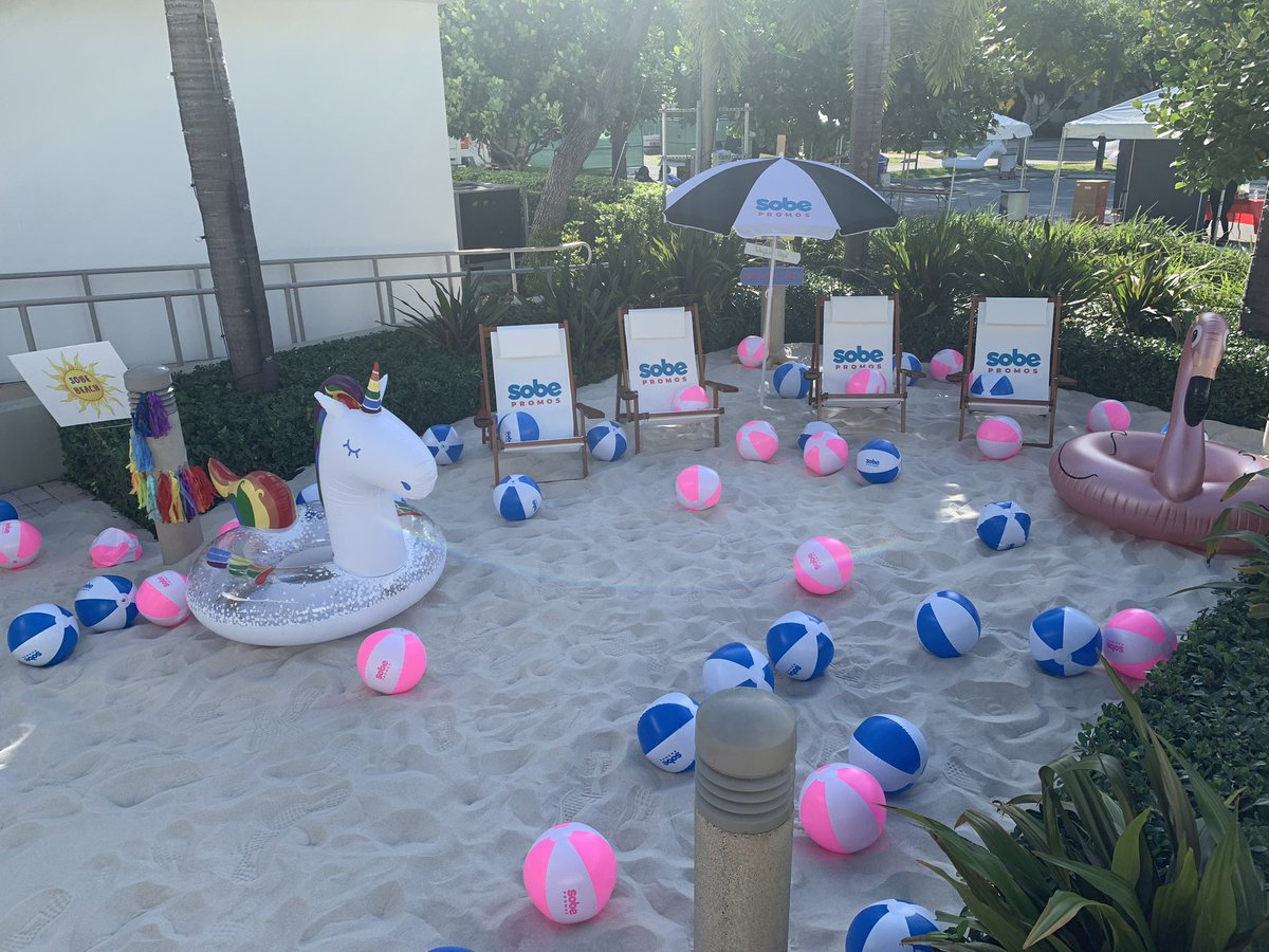 Thank you to @SobePromos for sponsoring Sobe Beach at #ToppelFest. It's looks awesome! #GoalDiggin #HireACane #UMiami<br>http://pic.twitter.com/8fc9cYllFV