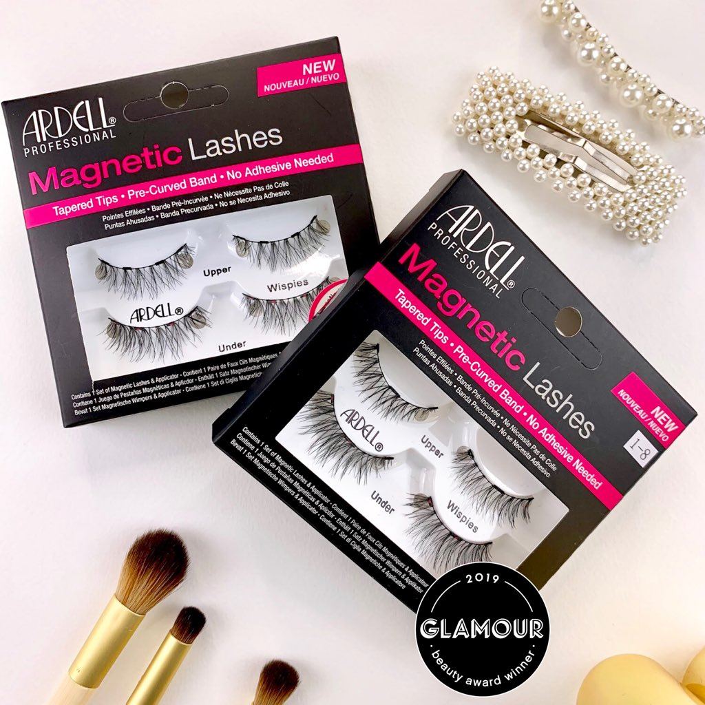 Ardell Magnetic Lashes was named Winner of the 2019 Glamour Beauty Awards for Fake Lashes in Best Drugstore Makeup, featured on @GlamourMag. 🎉 https://t.co/jy8kI5PWEg https://t.co/C0xDLZsaPR