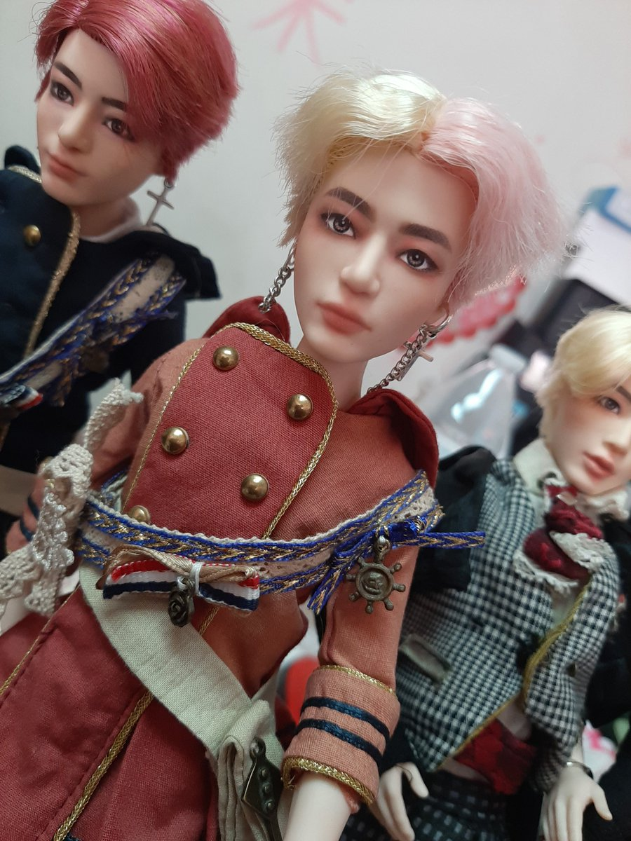 All my taeyang  dolls are mad at me for stole their clothes.  #BTSxMattel @BTS_twt<br>http://pic.twitter.com/Ygn7OFohWn