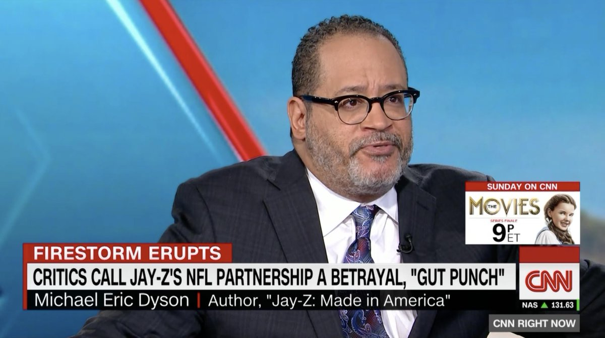 As the critics pile it on Jay-Z for his NFL deal, Michael Eric Dyson bucks the trend and defends him newsone.com/3884464/jay-z-…