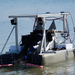 Image for the Tweet beginning: Engineering Students Test Ocean-Cleaning Semi-Autonomous