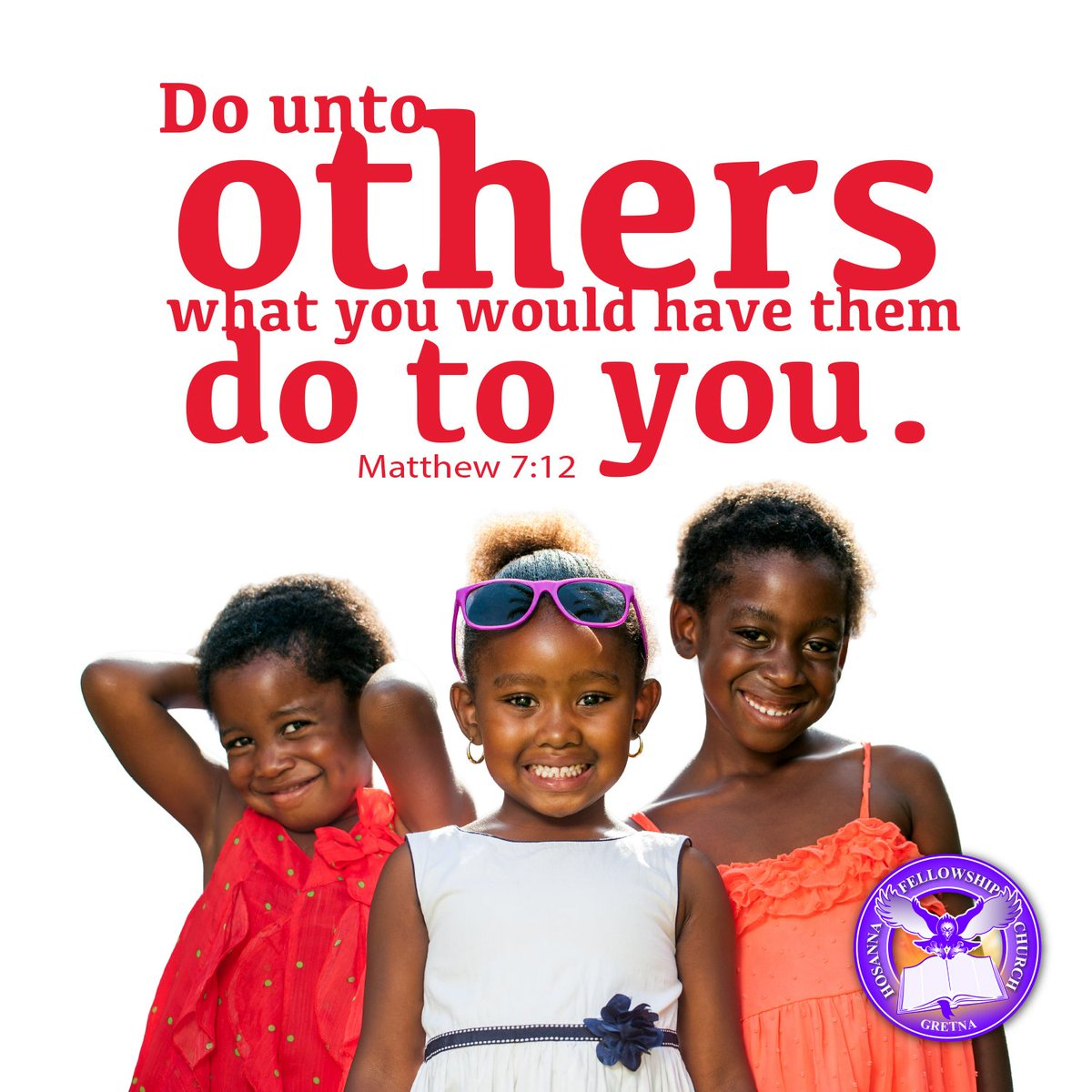 Treat others how you want to be treated. #LoveThyNeighbor #hfcgretna<br>http://pic.twitter.com/Z3TxzhmNm1