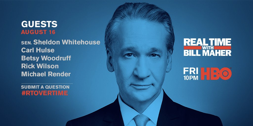 @RealTimers's photo on real time with bill maher