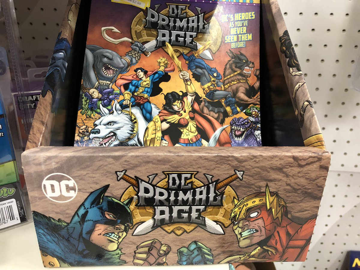 DC Primal Age comics in the @Target clearance section $2 98