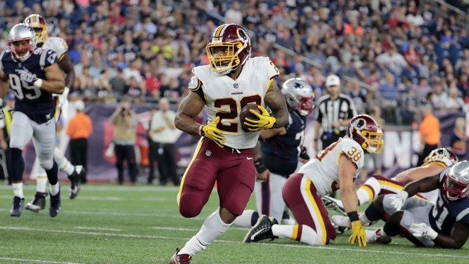 #26 RB Derrius Guice 2019 #FantasyFootball Outlook via @broeham | #NFL #FantasySports https://t.co/dKE8IbqPmz