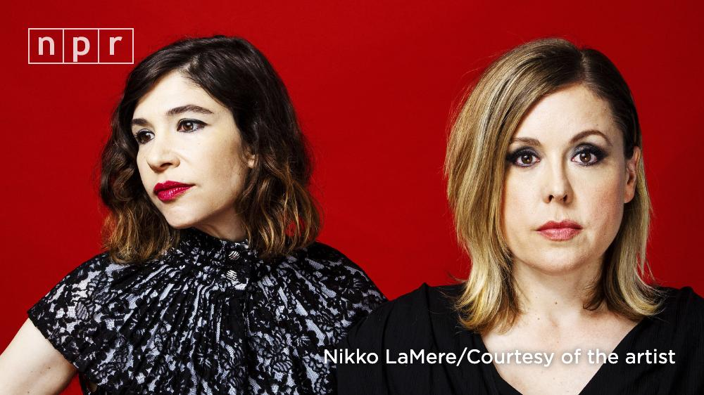"""""""The Center Won't Hold"""" is the latest album from music trio Sleater-Kinney. Two of its members, Carrie Brownstein and Corin Tucker, spoke with @rachelnpr about this new chapter.https://n.pr/2Mm8lP5"""