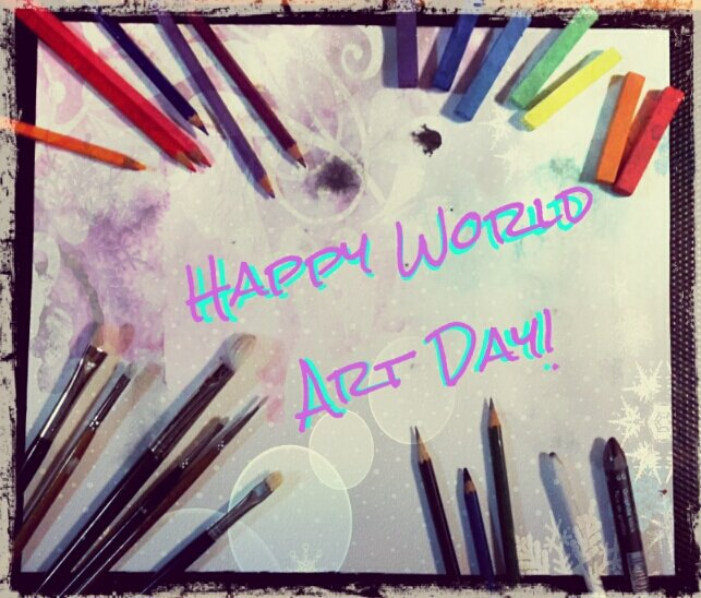 Happy #WorldArtDay!! In commemoration of the birthday of my favorite artist #LeonardoDaVinci. I ℒℴѵℯ #Art <br>http://pic.twitter.com/6ZOLASx1fn