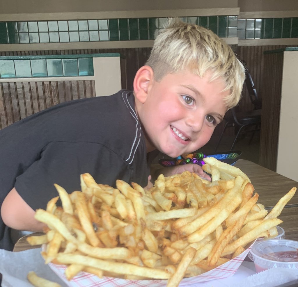 What's Bigger: Son or Large O fries?
