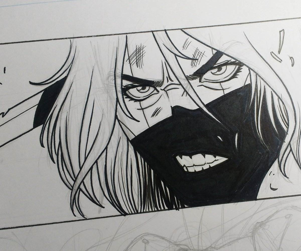 Small sneak peek panel of The Gods Fear Me comic. Written by @chibi_mike and art by me.  #comic #comicpanel #sequentialart #comicbook #comicbookartist #tgfm<br>http://pic.twitter.com/TwxcMHZDkm
