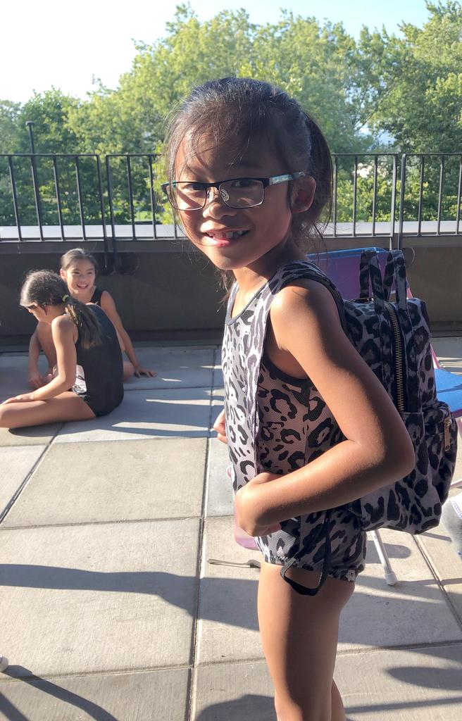When your leotard matches your backpack #feelgoodfriday #summertraining #vanphoenixgym<br>http://pic.twitter.com/BOs5uk24iG