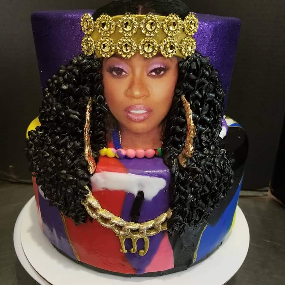 Who made this cake🔥
