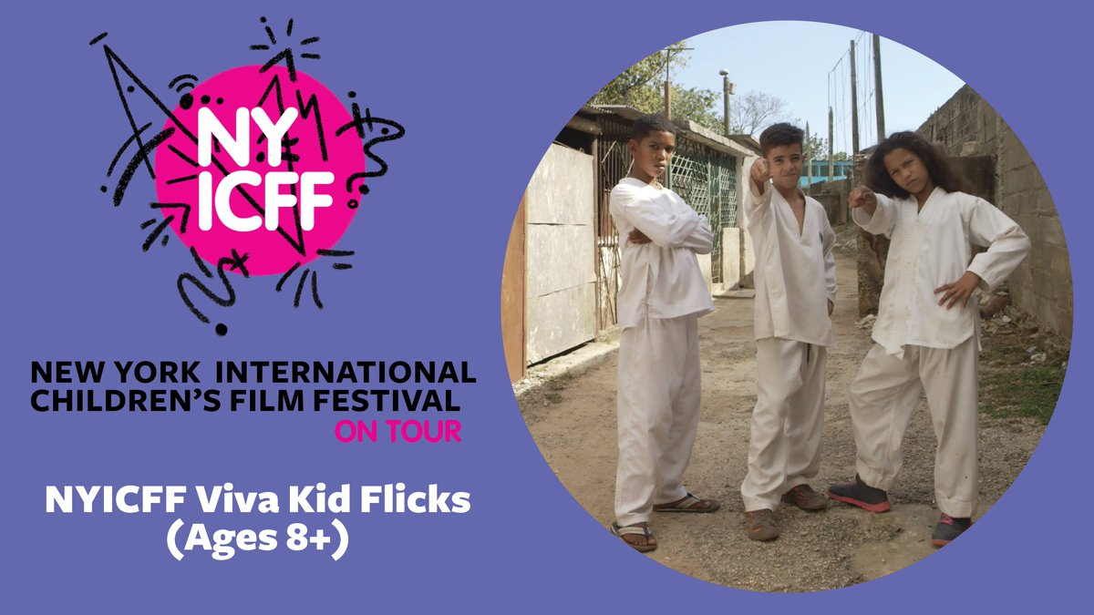 TOMORROW 3 PM: @NYICFFs VIVA KID FLICKS, a collection of Spanish-language short films that celebrate Latinx-themed stories from Mexico, Cuba, Guatemala, Spain and the US. FREE, Ages 8+ bit.ly/2019basilicavi…