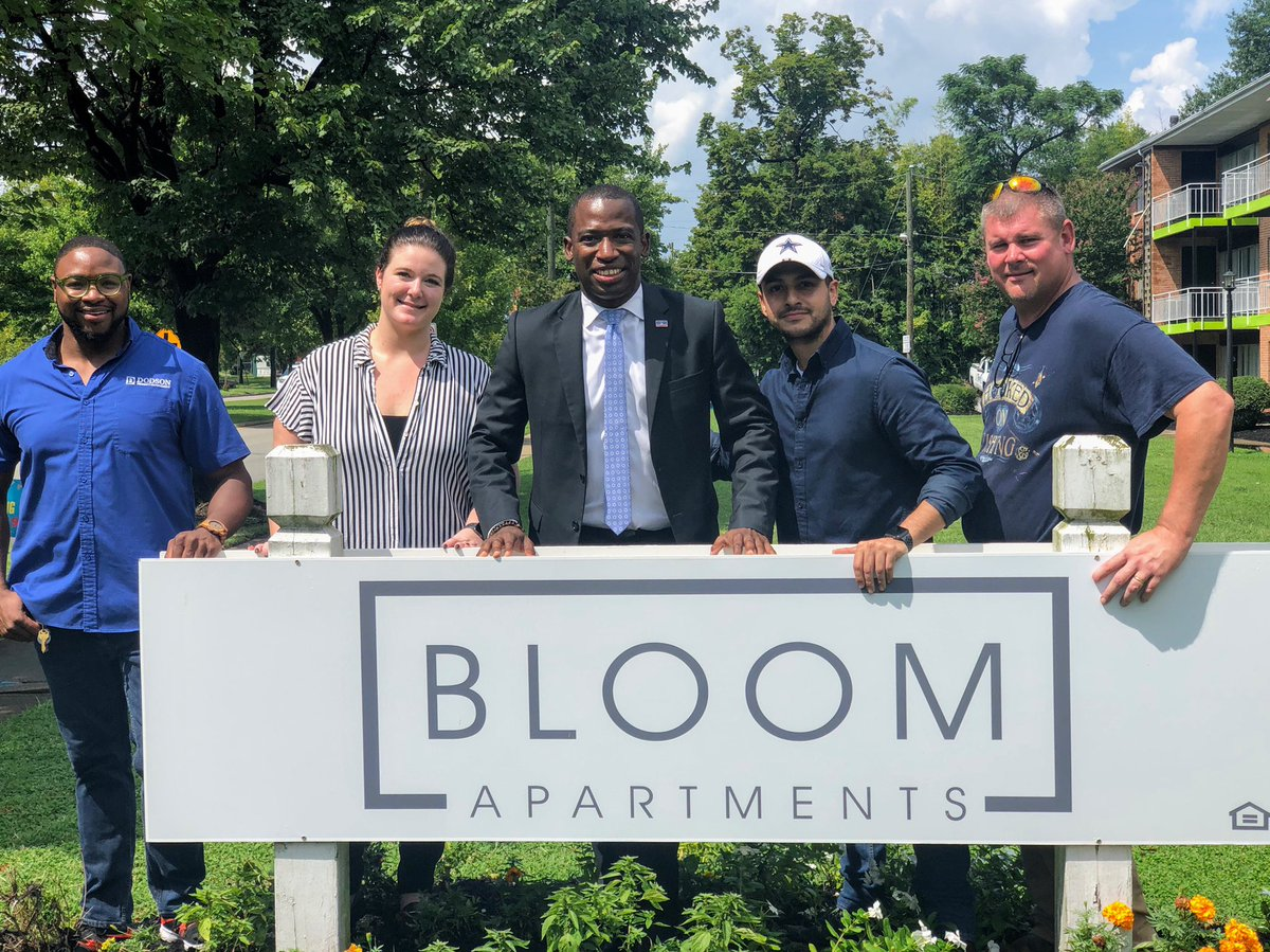 Celebrated the grand re-opening of the Bloom Apartments, formerly The Flats at Ginter Park. After extensive renovation, the new Bloom will offer 700+ quality affordable housing units from $500 to $900 along Chamberlayne Ave. in North Side. #1RVA