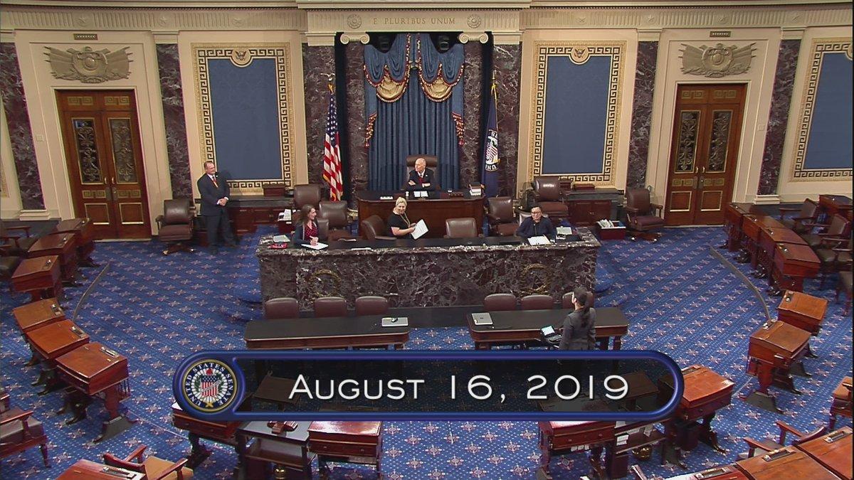 U.S. Senate: Pro Forma Session – LIVE on C-SPAN2 cs.pn/2Z8C9AX