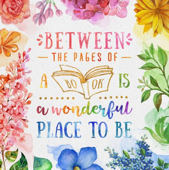Between the pages of a book is a wonderful place to be   #bookquotes #readingquotes #booklovers<br>http://pic.twitter.com/FRtyK4EIij