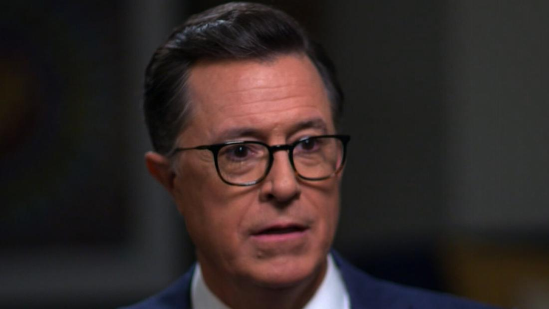 """I was personally shattered, and then you kind of re-form yourself in this quiet, grieving world that was created in the house.""  Late-night host Stephen Colbert opens up about grief and the death of his father and brothers in a plane crash when he was 10 years old."