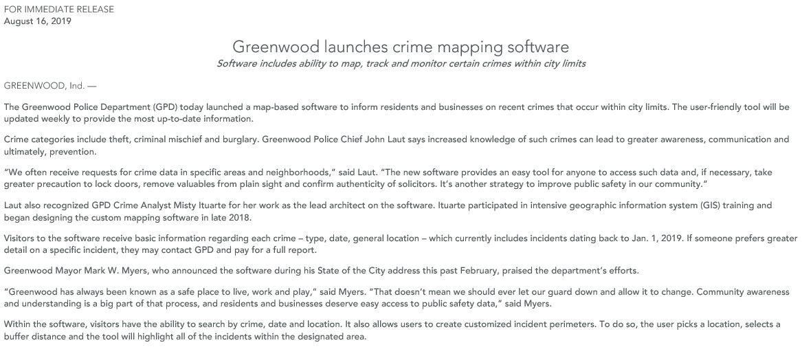 Greenwood Police (@gpd_police)   Twitter