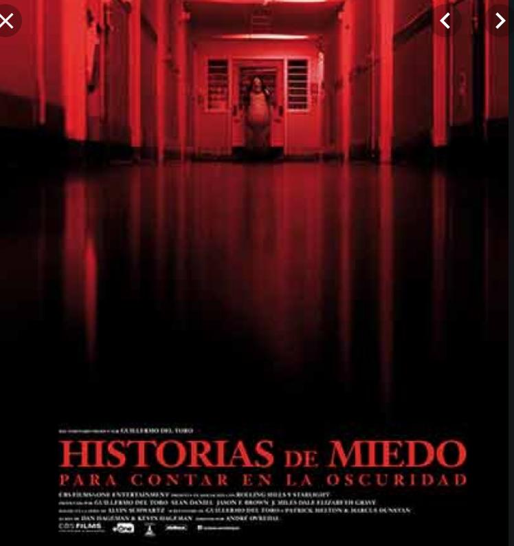 Aquí mi recomendación de las #CincoParaLlevar de #AsiLasCosasConLoret. Con lo miedosa que soy (para el cine), voy a recomendar una película de miedo. Historias de miedo para contar en la oscuridad, con monstruos diseñados por @RealGDT: