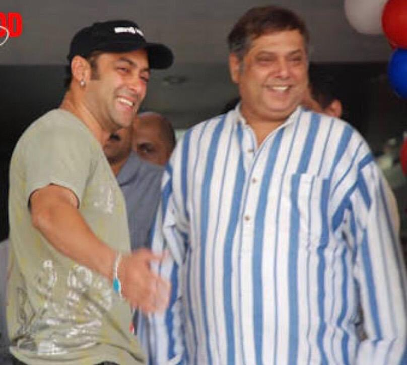 The best entertaining director who has given me the maximum films and hits . . Happy birthday! #DavidDhawan