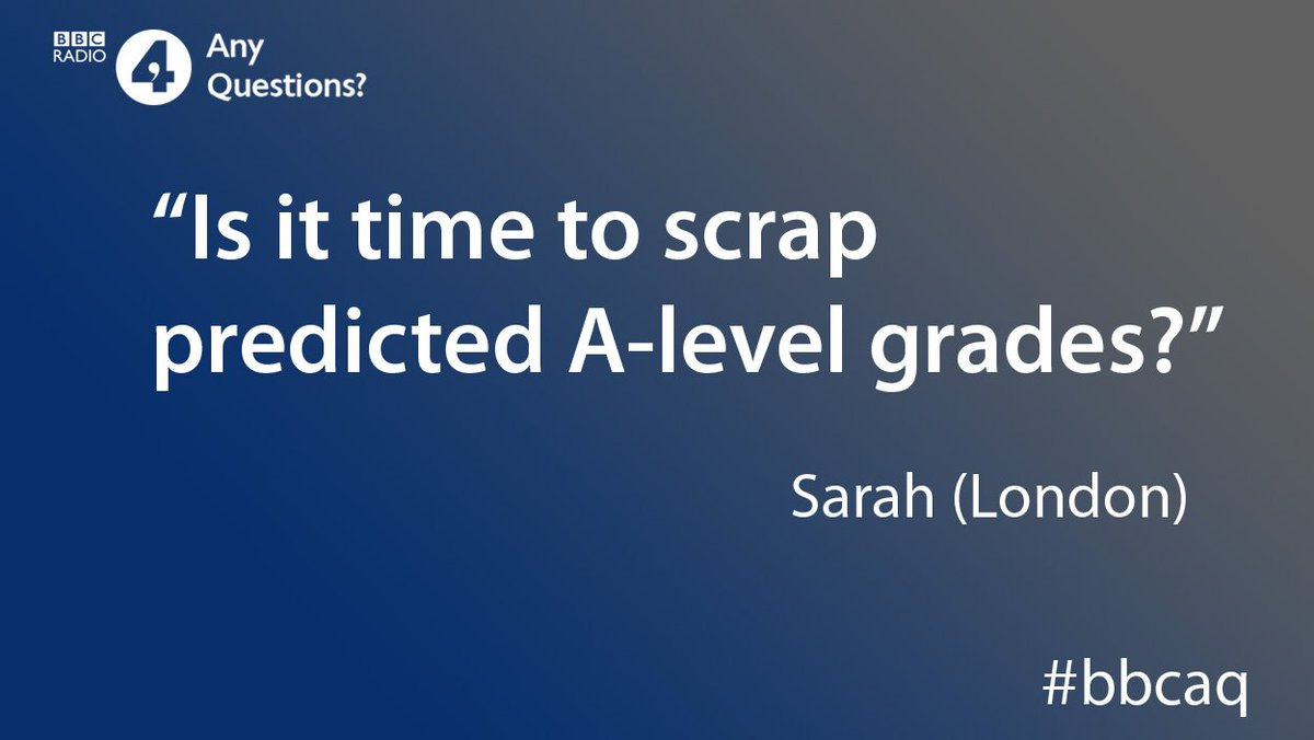 What do you think of Labour's plan to scrap predicted A-level grades? #bbcaqhttps://bbc.in/31T99ir