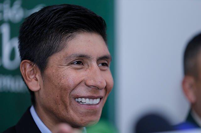 Nairo Quintana está en Bogotá y le tiene una invitación para este puente festivo >>> https://buff.ly/2MnERAu