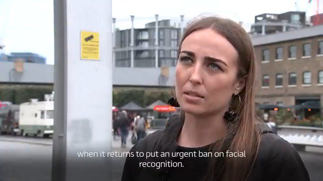 We now have an epidemic of live facial recognition in the UK @silkiecarlo from @bbw1984 tells @chrisitv the technology should be banned as the data watchdog investigates its use in Kings Cross: bit.ly/2Mm5buK