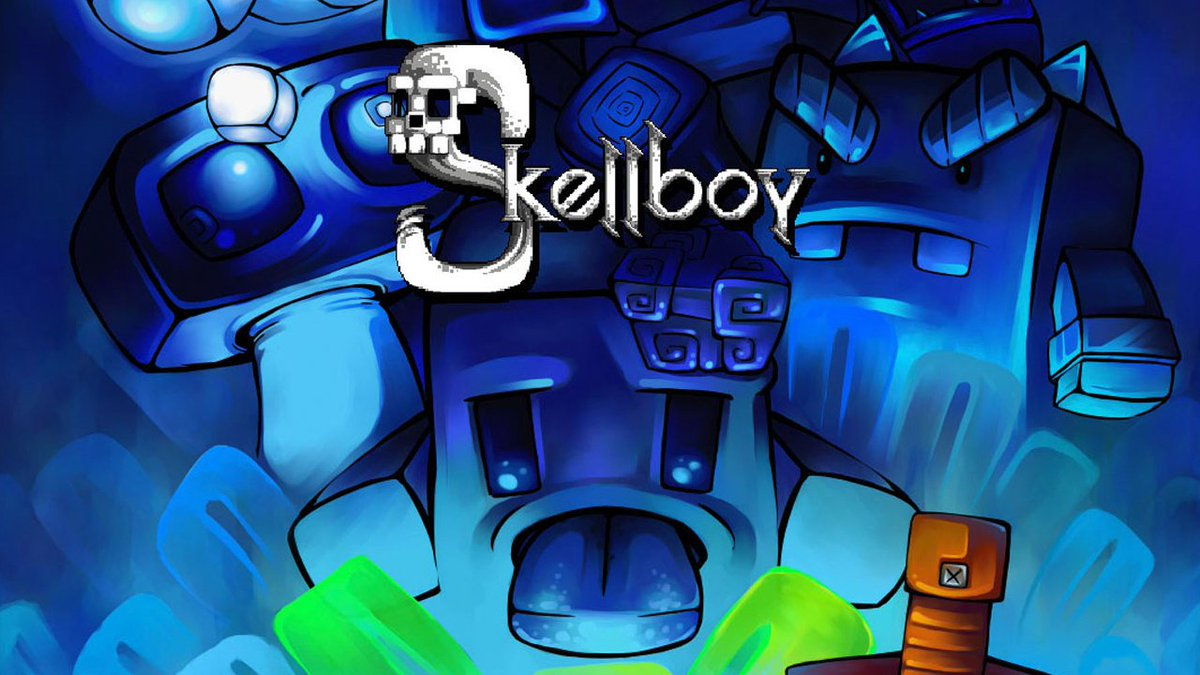 Set out on an epic journey across a vibrant fantasy world, set to a background of rocking chiptune tracks, when #Skellboy hacks and slashes its way onto #NintendoSwitch on 12/3. #IndieWorld