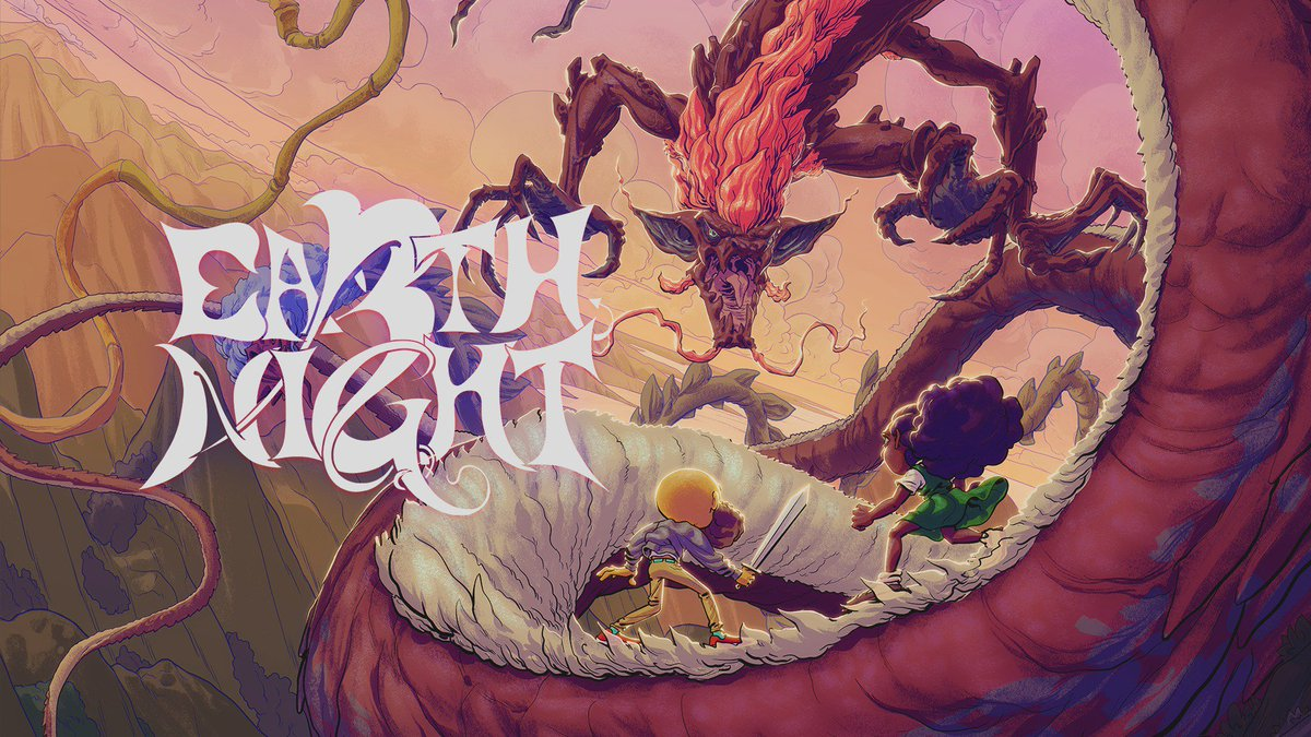 Dragons have taken over the Earth and it's up to a 14-year old schoolkid and a freelance photographer to stop them! Jump and dash through dragon-infested skies when #EarthNight launches on #NintendoSwitch in 2019. #IndieWorld