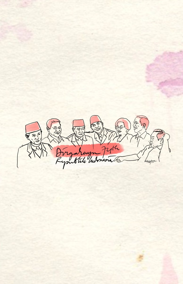 RT @alfinrizalisme: Selamat pagi, orang-orang Indonesia yang baperan dan yang tidak. ☺  #74thnIndonesia https://t.co/CV4u2feET9