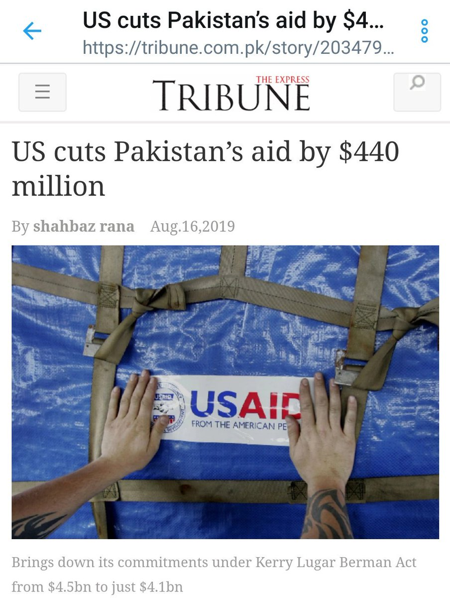 BREAKING: United States further cuts Pakistans aid by $440 million. Thank you @realDonaldTrump 🤣😂🤣 #PakHumiliated #UNSC