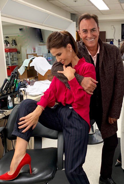 With the beautiful Kristian. At Days creating magical times. #Days #NBC #love #magic #vets #forever @kristianalfonso<br>http://pic.twitter.com/gF5qnKs2vi