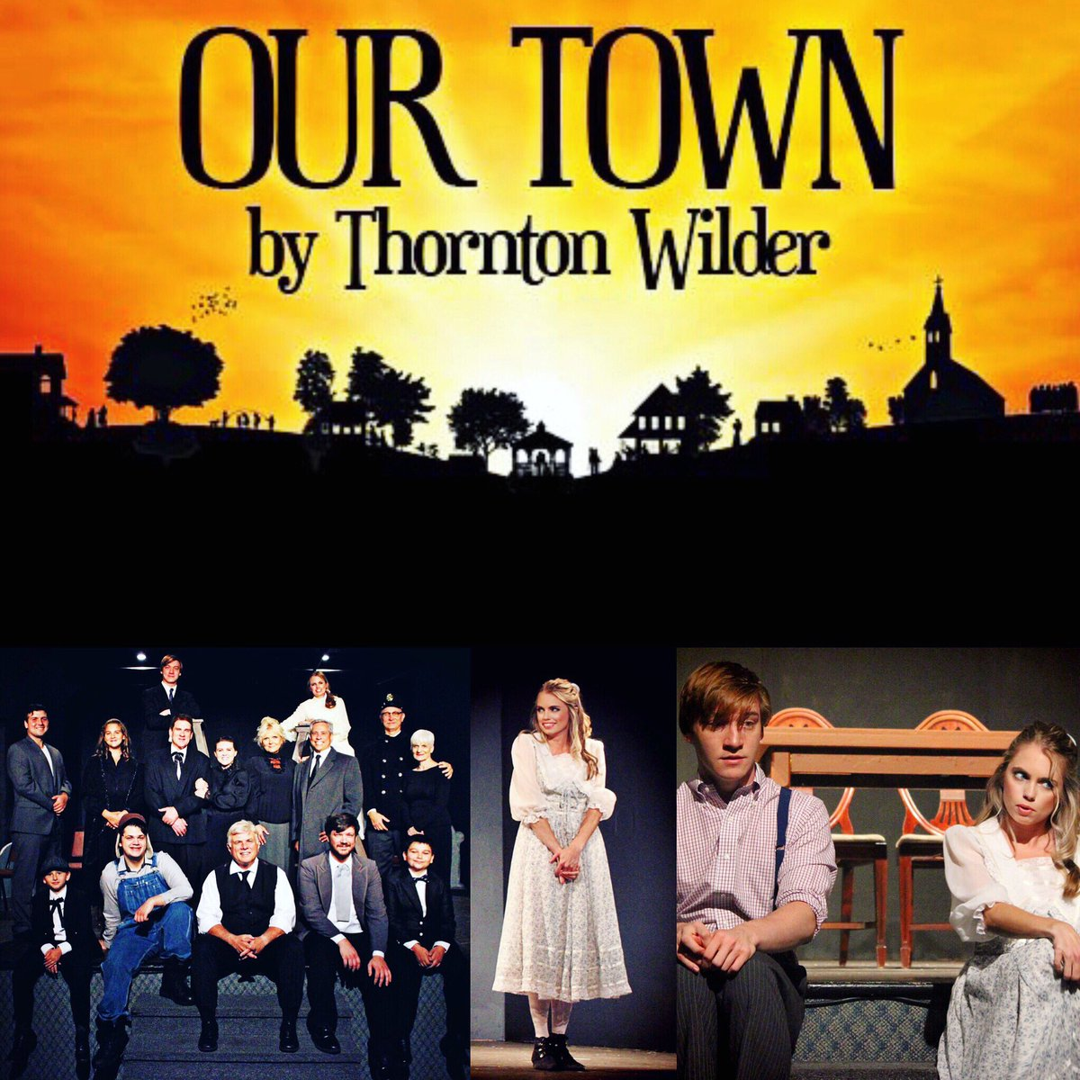 Opening night! Break a leg to all the cast and crew and to all my artist friends opening in productions this week as well! Hope to see you at Grover's Corners! #ActorLife <br>http://pic.twitter.com/BZEBaz5b52