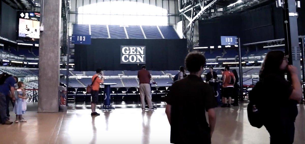 VLOG_002 Gen Con We went to #GenCon! youtube.com/watch?v=MpesBa…